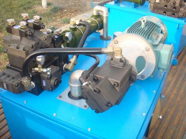 大流量液压系统