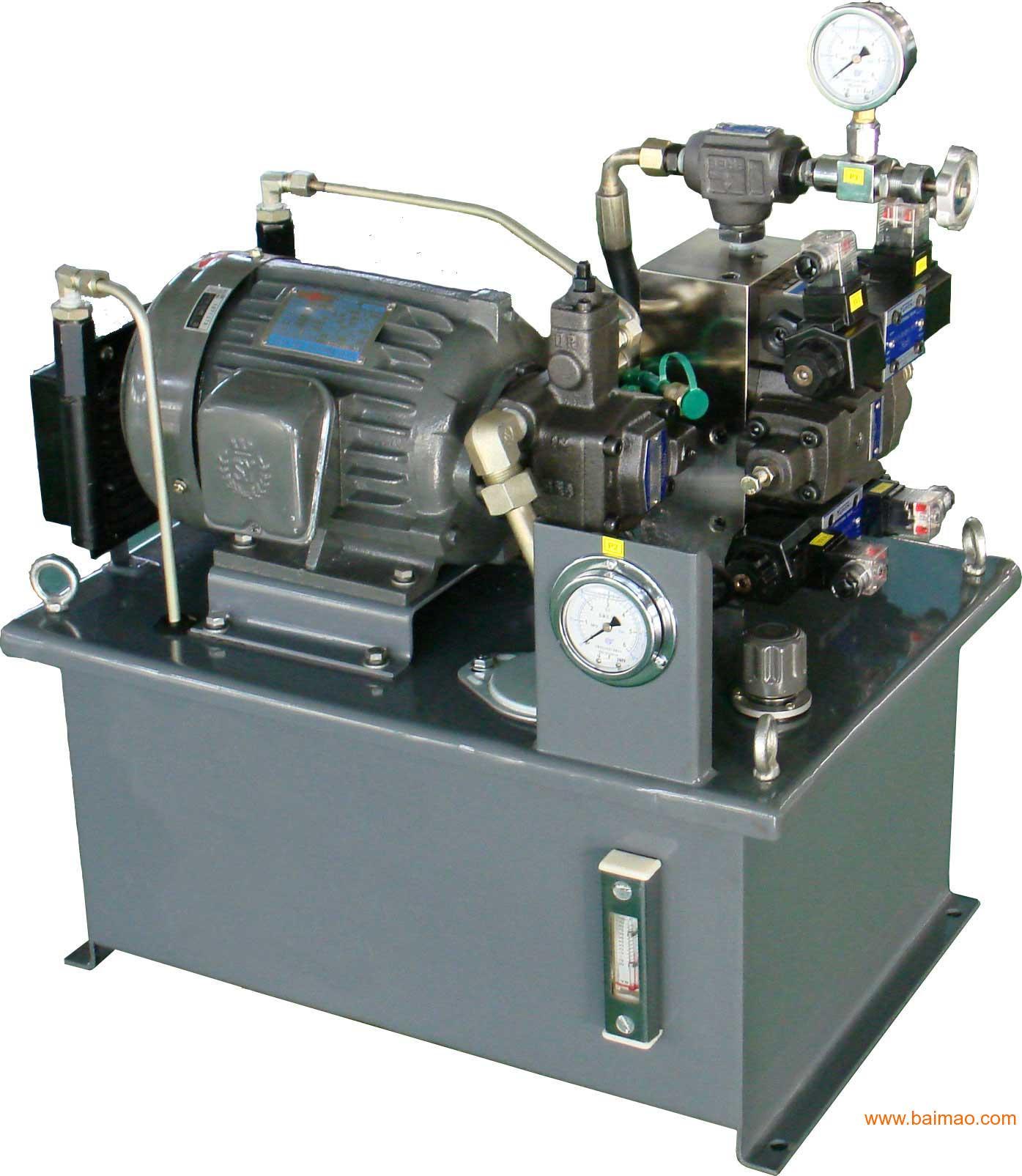 数控机床液压系统